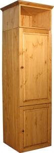 Шкаф под холодильник с нишей 01 (600)