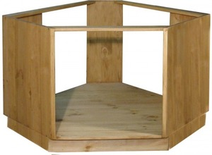 Шкаф стол угловой под плиту 39 (1050)
