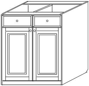 Тумба 80 (2 двери 1 ящик)