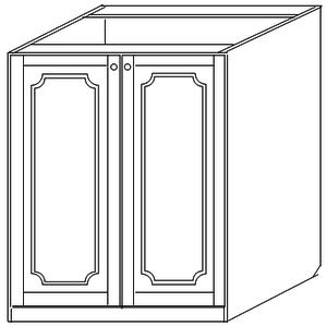 Тумба 80 под мойку (2 двери)