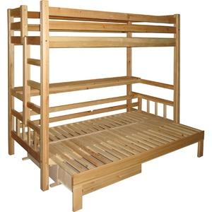 Кровать двухярусная Чердак-Канада (без мягкой части)