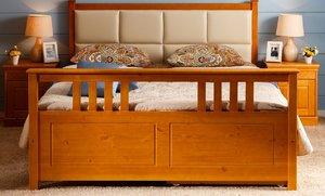 Кровать Дания 3 мягкая