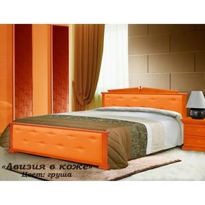 Кровать Авизия в коже