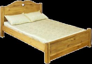 Кровать LIT COEUR ( низкое изножье)