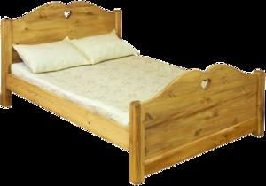Кровать LIT COEUR ( высокое изножье)