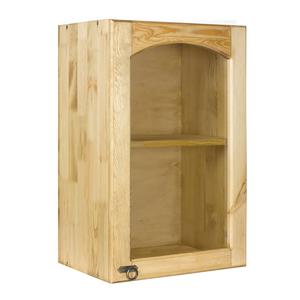 Шкаф настенный Викинг GL 450 с полкой