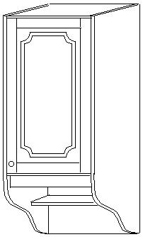 Шкаф 50 навесной