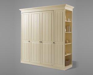 Шкаф 4-х створчатый Дания №2
