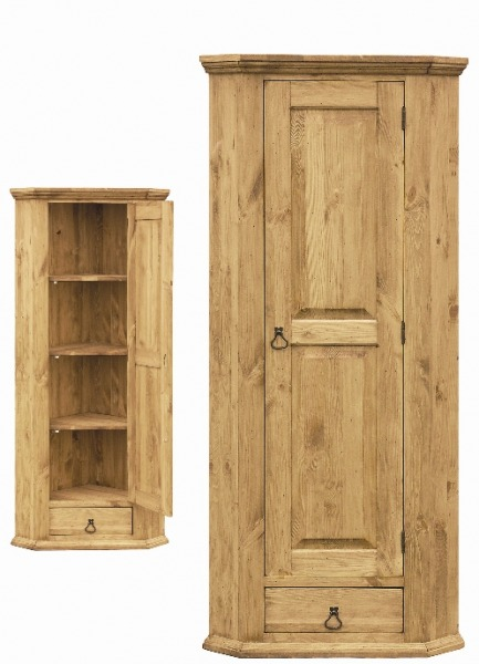 Шкаф для белья Ромео угловой 180