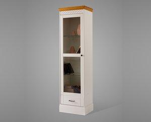 Шкаф книжный Дания 1-створчатый