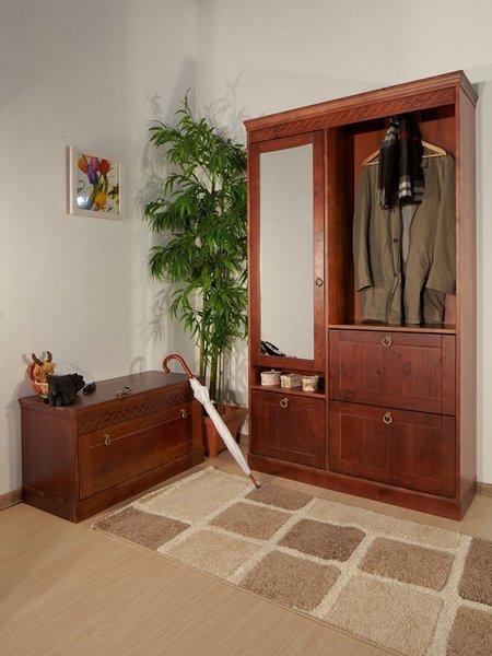 Шкаф комбинированный Дания для прихожей