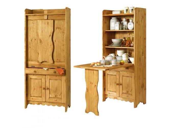 Шкаф стол с откидывающейся крышкой Стол пастуха