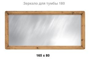 Зеркало над 165х80